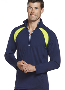 Jockey® Quarter Zip with Mesh Inserts