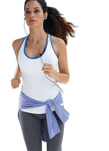 ... about Jockey Womens Active Figure 8 Tank Activewear Tanks polyester