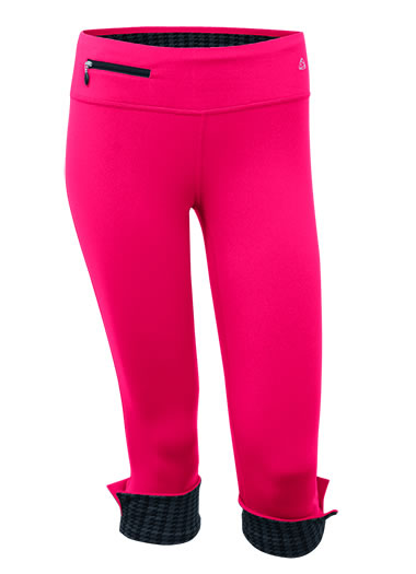Jockey® Active Contrast Cropped Legging