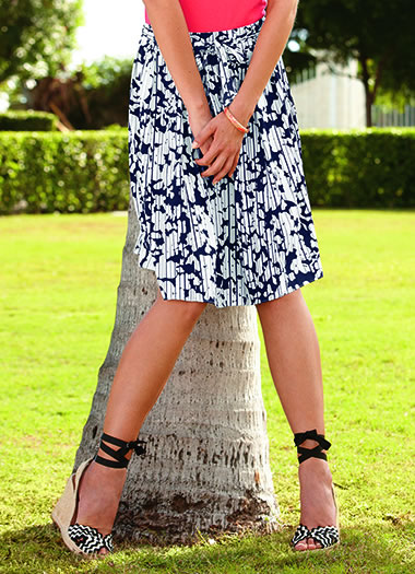 Jockey® Georgette Skirt