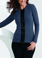 Jockey® Plus Size Zip Front Cardigan