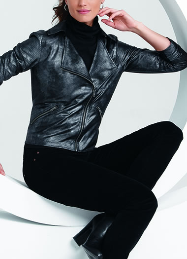 Jockey® Glam Biker Jacket