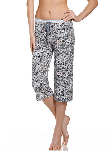 Jockey® Quartz Floral Sleep Capri (1 of 1)