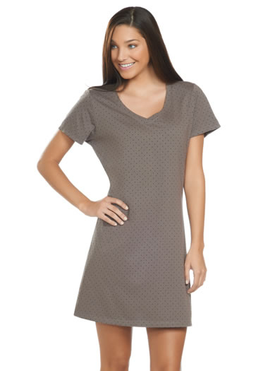 Jockey&amp;amp;reg; Polka Dot Print Sleep Shirt (1 of 1)
