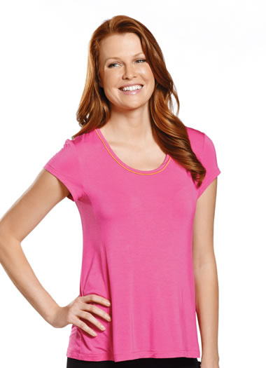 Jockey® Paradise Garden Short Sleeve Sleep Top (1 of 1)