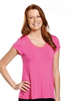 Jockey® Paradise Garden Short Sleeve Sleep Top