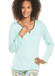 Jockey® Enchanted Forest Long Sleeve Sleep Top