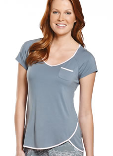 Jockey® Tulip Hem Sleep Top