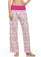 Jockey® Botanical Gardens Foldover Sleep Pant