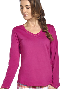 Jockey® Autumn Orchard Cotton V-Neck