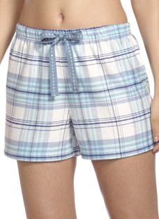 Jockey® Brushed Flannel Plaid Shorts