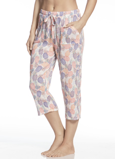 Jockey® Tropical Oasis Printed Capris
