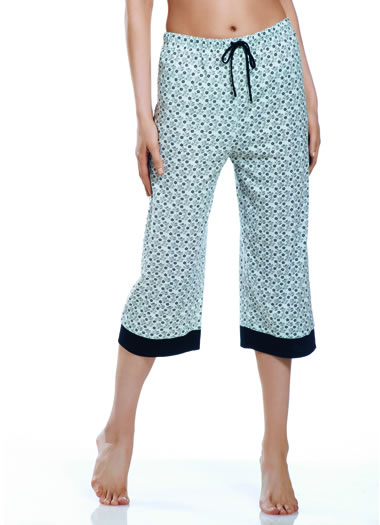 Jockey® Flower Print Sleep Capri (1 of 1)