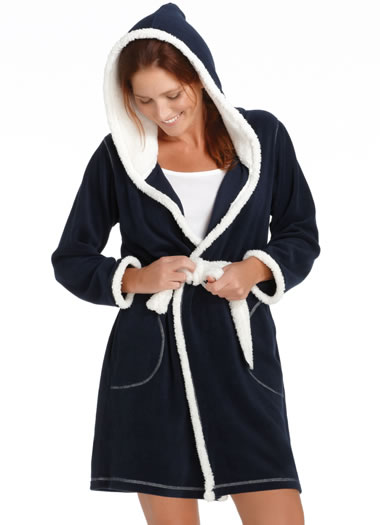 Jockey® Sherpa Wrap Robe (1 of 1)