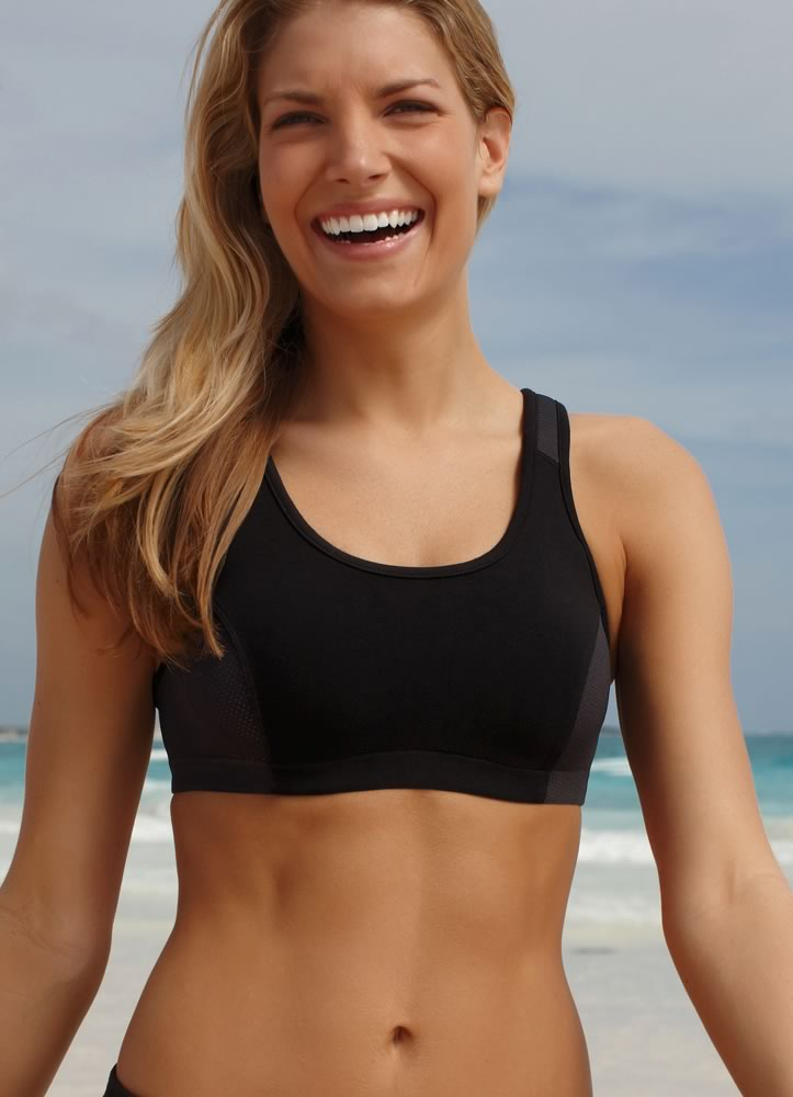 Jockey® High Impact Wicking Cotton Bra