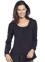 Jockey® Long Sleeve Ruffle Sleep Top