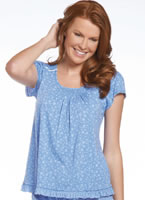 Jockey® Spring Blossoms Sleep Top