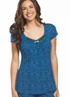 Jockey® Floral & Lace V-neck