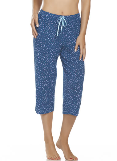 Jockey® Floral & Lace Capri (1 of 2)