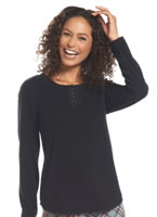 Jockey® Fleece Henley