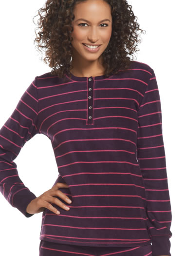 Jockey® Long Sleeve Henley Top (1 of 1)
