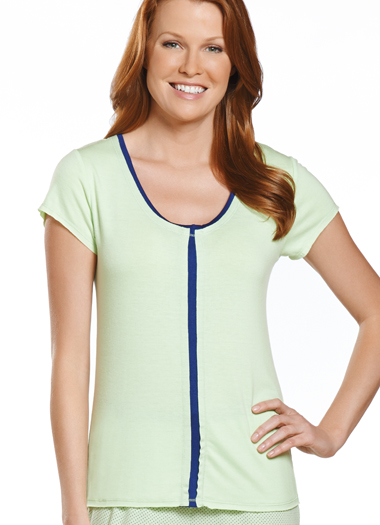Jockey® Simple Stripe Scoopneck Tee (1 of 1)