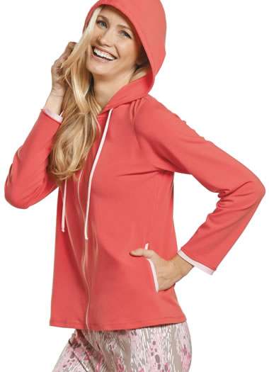 Jockey® Sleepwear Hoodie Jacket (1 of 1)