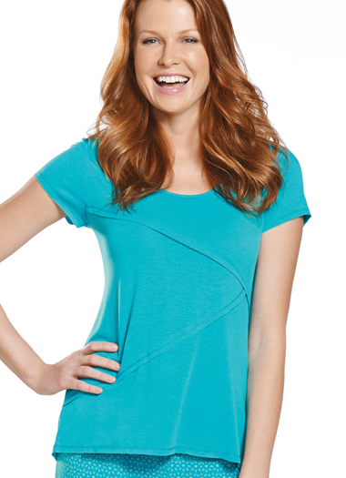 Jockey® Halo Short Sleeve Sleep Top