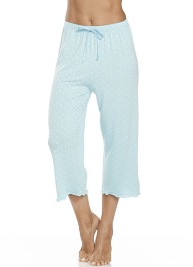 Jockey® Triangles and Dots Sleepwear Capri