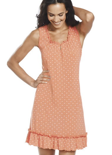 Jockey® Triangles and Dots Chemise (1 of 1)
