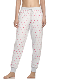 Jockey® Polka Dot Fleece Jogger Pant
