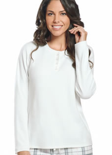 Jockey® Microfleece Long Sleeve Henley