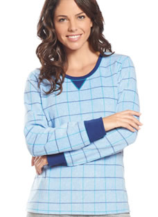 Jockey® Fleece Scoop Neck Sleep Top