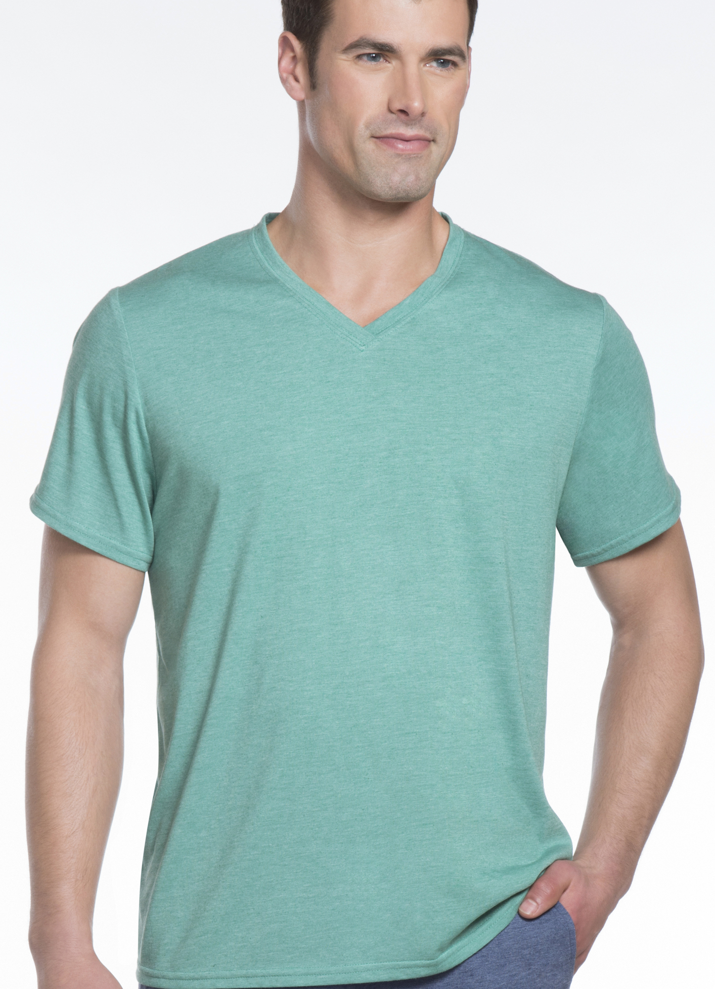 jockey v neck sleep t shirt