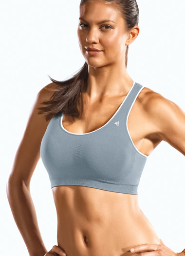 Cotton Jersey Reversible Sport Bra (1 of 1)