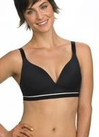 Medium Impact Moulded Cup Mesh Bra