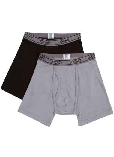 Jockey® Boys Cotton Performance Boxer Brief - 2 Pack