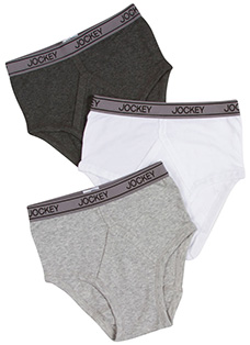 Jockey Boys Cotton Performance Brief - 3 Pack