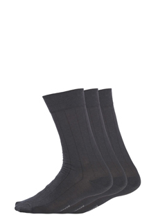 Jockey® Classic Cotton Ribbed Socks - 3 Pack