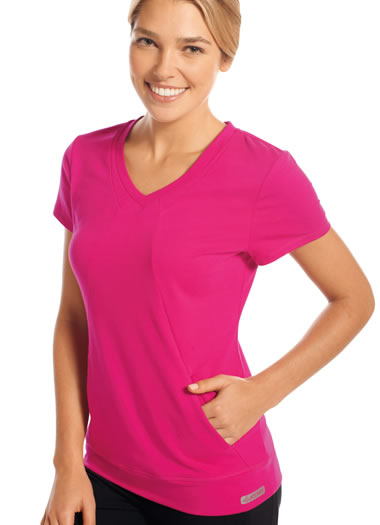 Active Tee with Pockets