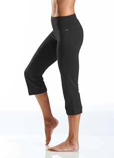 Jockey® Cotton Stretch Flare Capri