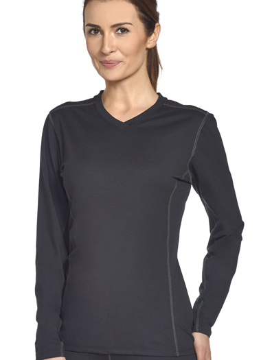Jockey® Stretch Performance Long Sleeve V-Neck