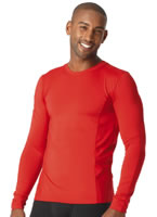 Jockey® Microfiber Performance Tall Man Long Sleeve Crew