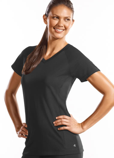 Long and Lean V-Neck Tee (1 of 1)