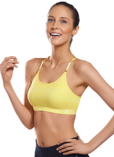 Jockey® Seamless Racerback Sport Bra w/ Removable Cups (1 of 1)