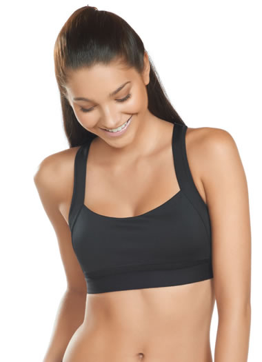 Jockey® Va Va Voom Sports Bra (1 of 1)