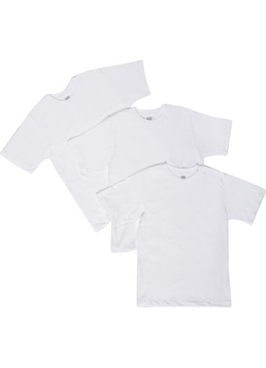Jockey® Boys Cotton Performance T-Shirts - 3 Pack