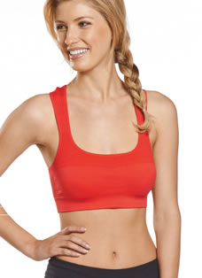 Jockey® Performance Push Up Sports Bra