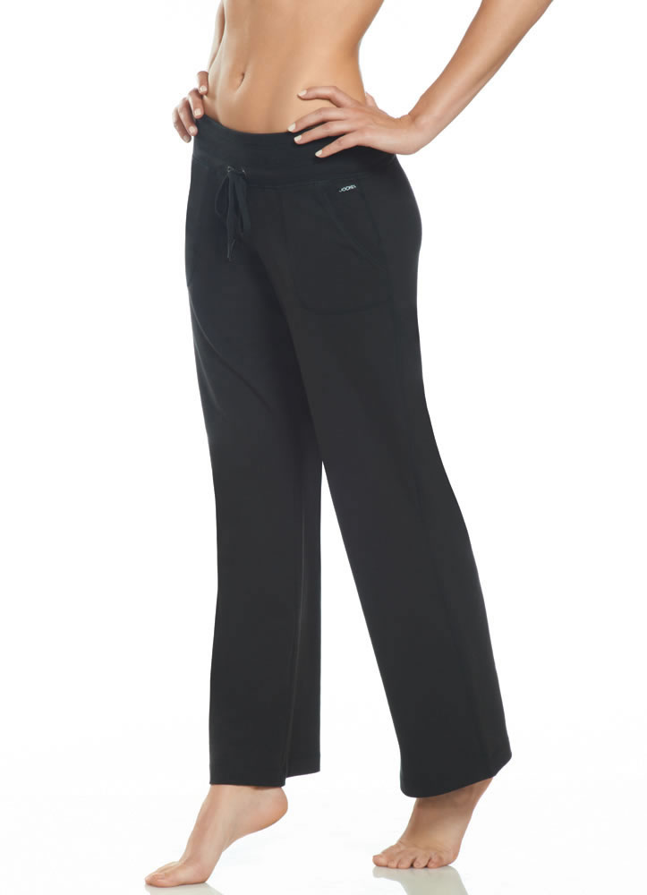 ... about Jockey Womens Relaxed Fit Pant Activewear Pants cotton blends
