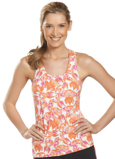 Jockey® Tie-Dye Tank w/ Shelf Bra (1 of 1)